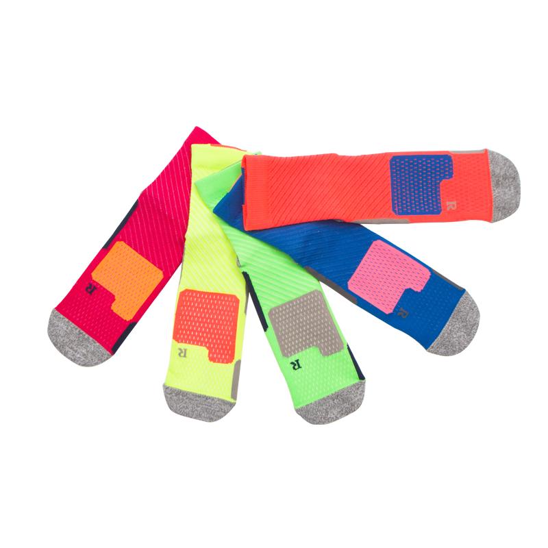 Спортивные носки из хлопка 9-11, комфортные, воздухопроницаемые, цвет: многоцветные