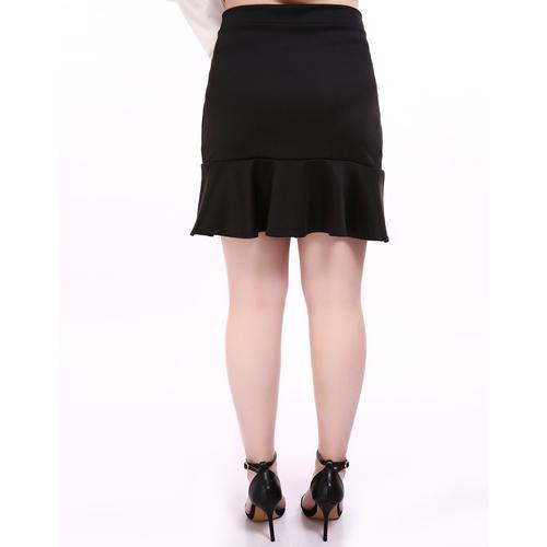 s plus size skirt ruffle plus size mini skirt