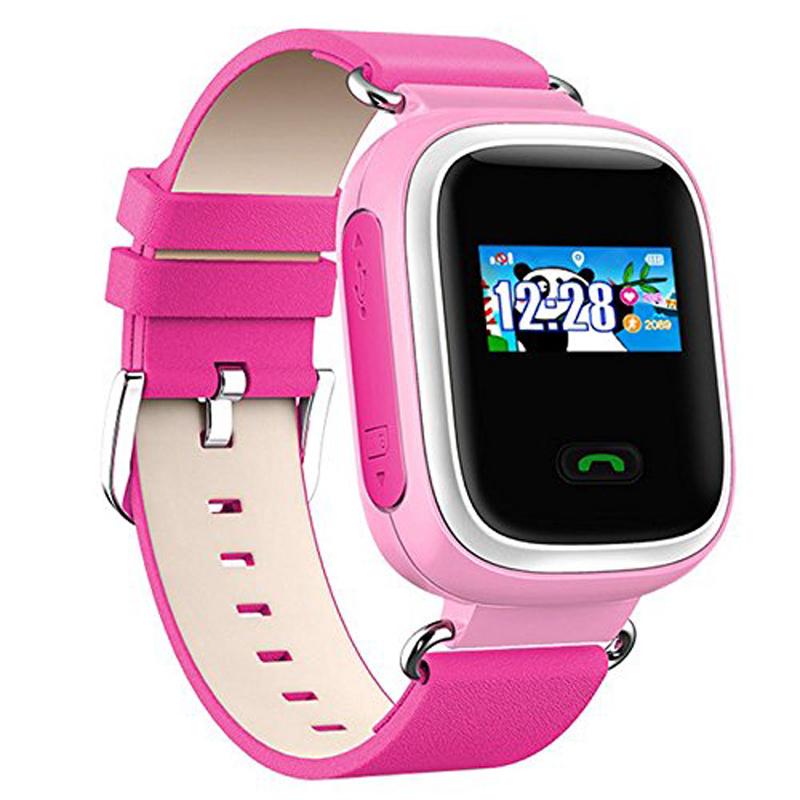 Детские умные часы, совместимая ОС: iOS и Android, цвет: розовый