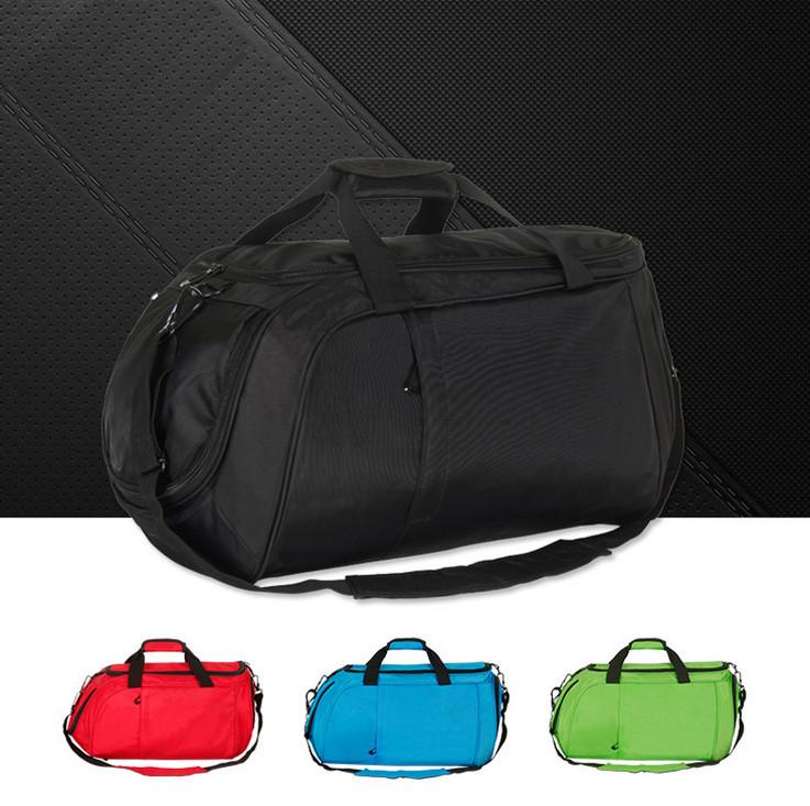 Мужская сумка для путешествия черного цвета