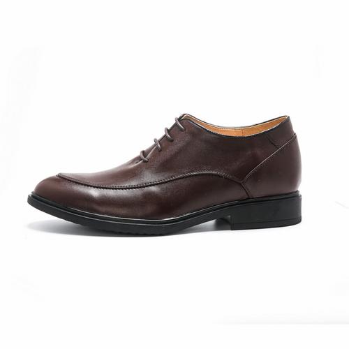 brown sharp height increasing dress shoes make you