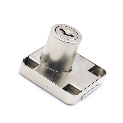 XiaoBoShi Drawer Locks 19mm Diameter 22mm Thickness Cabinet Desk Cupboard Lock 3