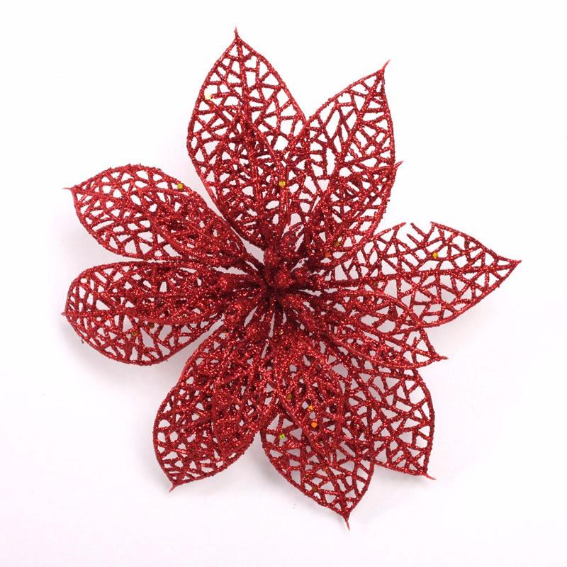 Декоративный цветок для елки