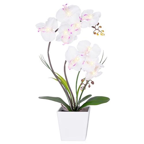 Led Artificial Flower Light Orchid Pot Arrangement Wedding: christmas orchid arrangements