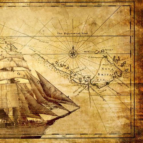 Vintage Nautical Decor Sale: Poster Print Retro Vintage Nautical Map Antique Sailboat