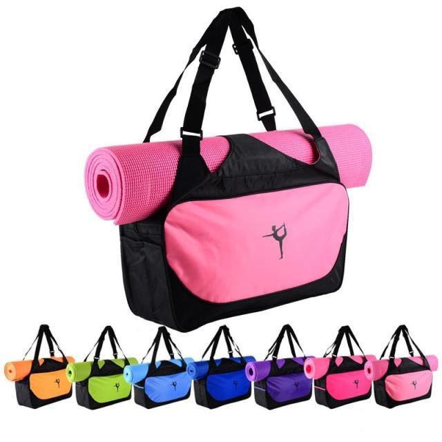 Спортивная сумка с отделением для спортивного коврика