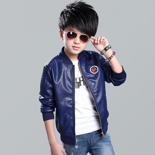 Kindstraum 2016 New Boys Faux Leather Jackets Kids Fashion Coats Outerwear | EBay