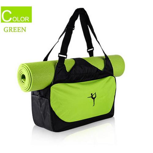 women men yoga tote bag sports workout gym handbag travel luggage without mat ebay. Black Bedroom Furniture Sets. Home Design Ideas