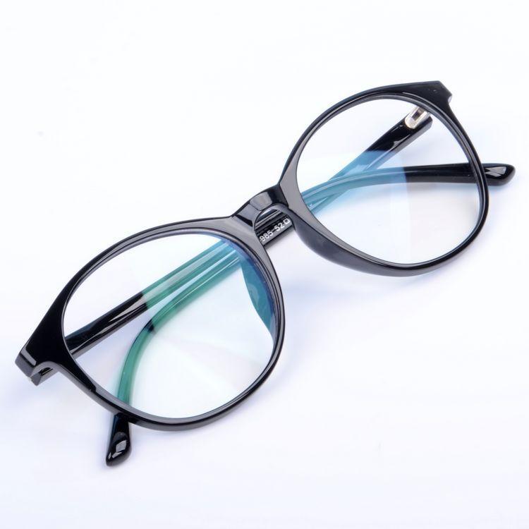 Модные антибликовые очки черного цвета